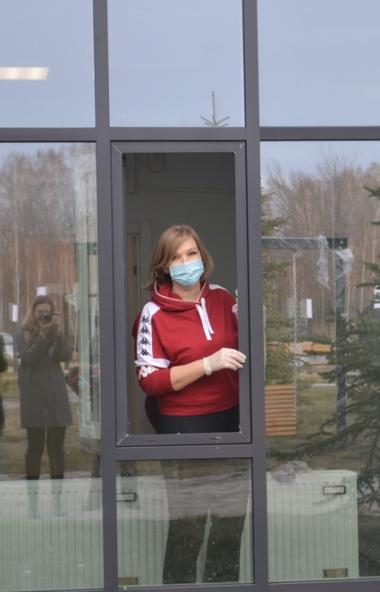 В новом инфекционном корпусе областной клинической больницы №3 в Малой Сосновке (Челябинская обла