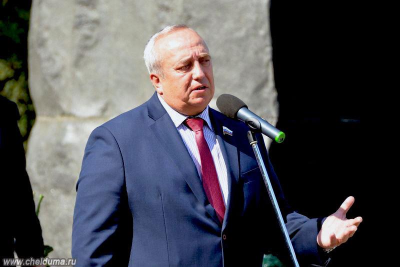 Утром один из видных политиков России, член Совета Федерации, участник боевых действий в Афганско