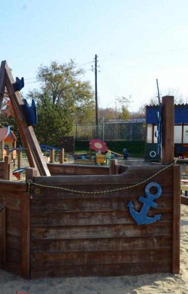 В городе Коркино (Челябинская область) проводится капитальный ремонт детского сада и строится нов