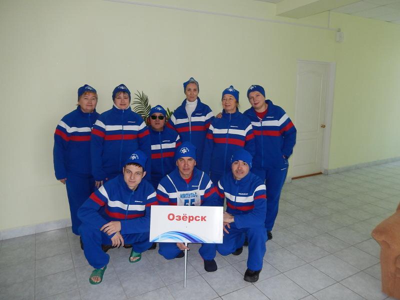 «Опорники» соревновались в таких дисциплинах как лыжные гонки (2 километра), настольный теннис и