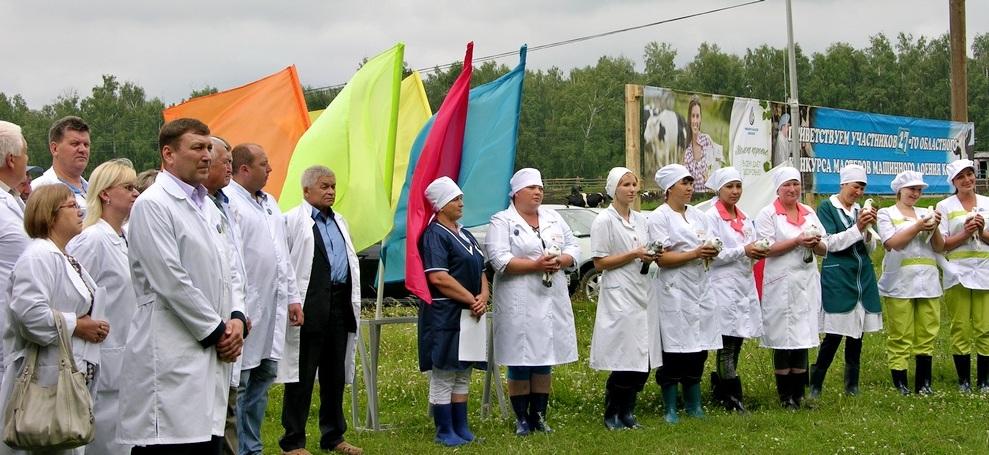 В Челябинской области выбрали лучшую доярку. Лучшим оператором машинного доения стала Любовь Гати