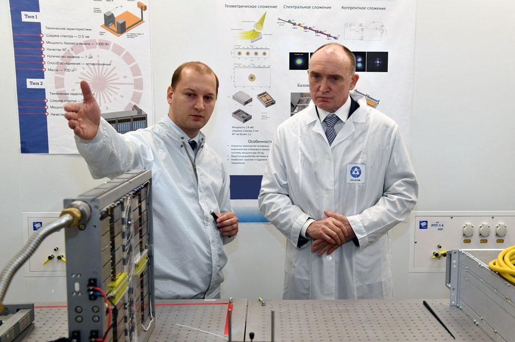 Губернатор Челябинской области Борис Дубровский побывал с официальным визитом в