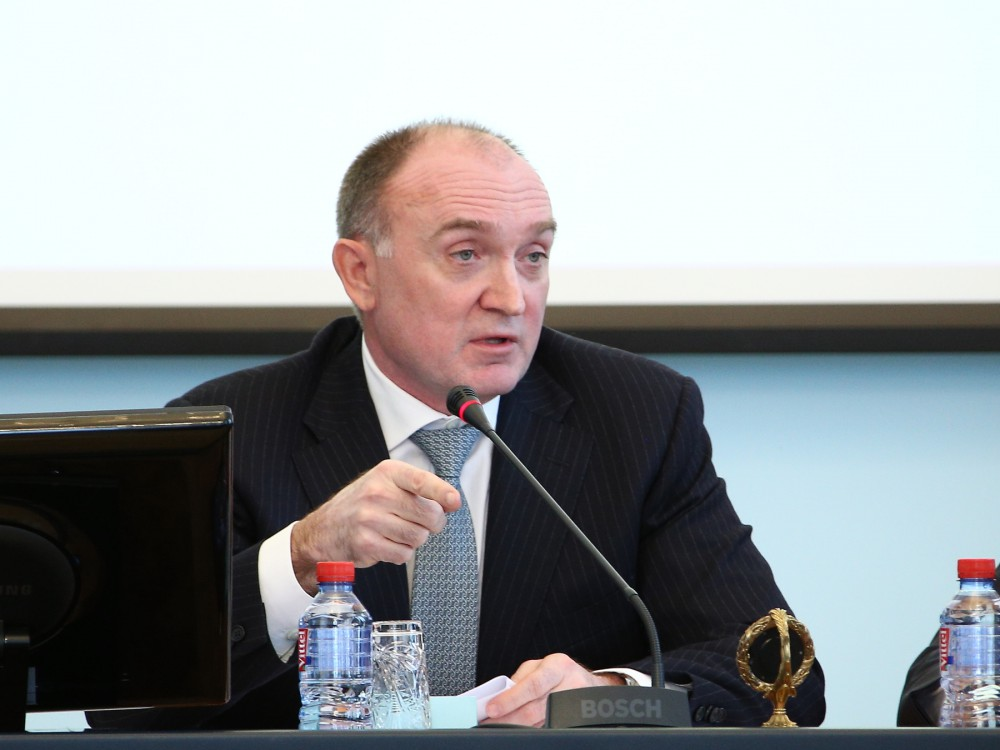Возможности и перспективы развития компании в Челябинской области обсудили губернатор Борис Дубро