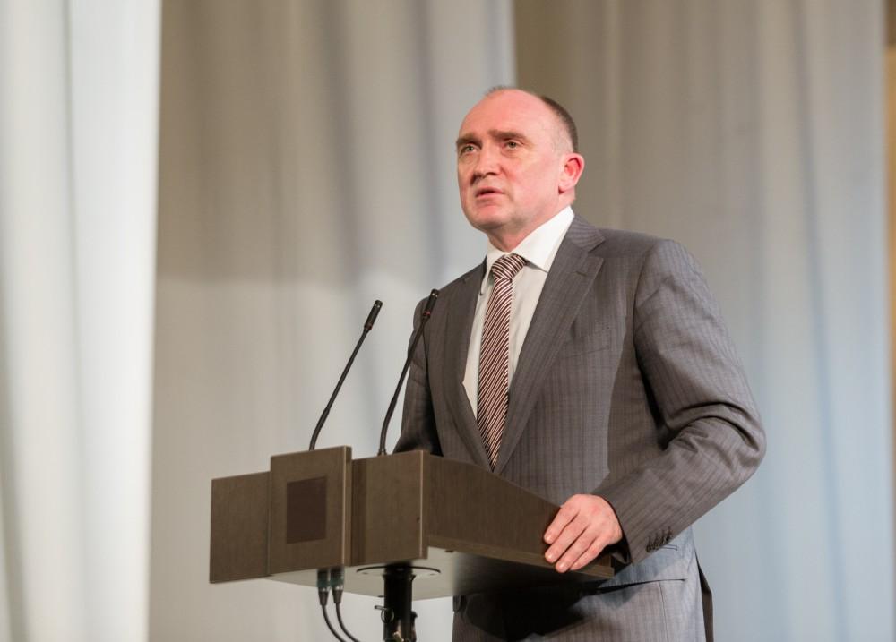 Борис Дубровский выступил перед электоратом со своей избирательной программой. Глава региона отме