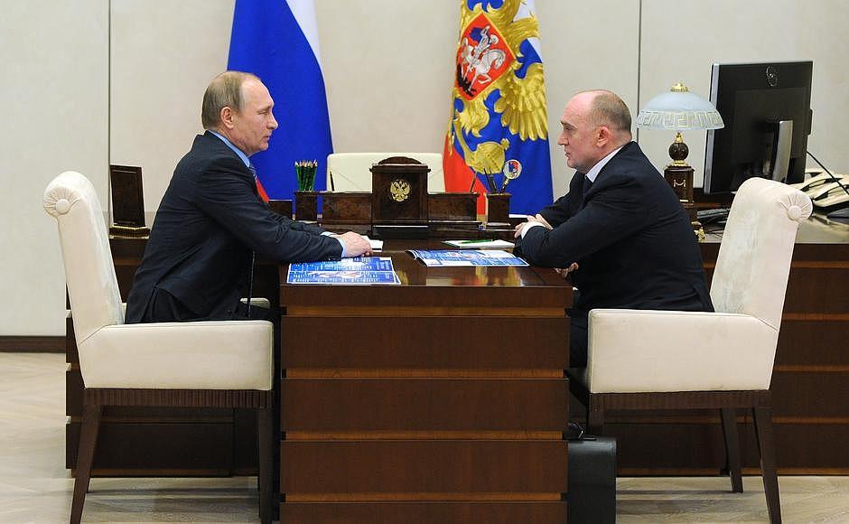 Как уже сообщало агентство «Урал-пресс-информ» 9 ноября Владимир Путин приезжал с рабочим визитом