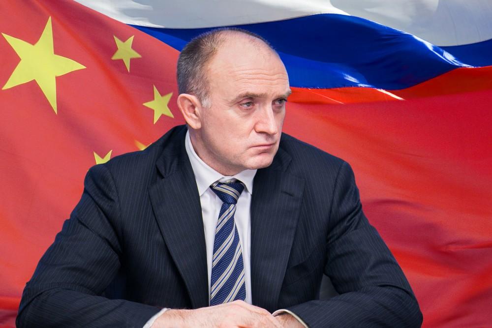 Первая личная встреча губернаторов состоялась год назад на выставке ИННОПРОМ в Екатеринбурге. «
