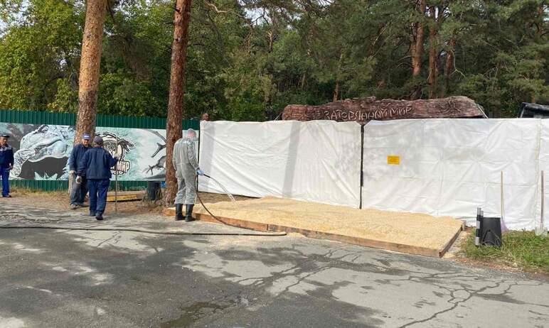 В челябинском зоопарке сегодня, девятого сентября, в связи с выявлением очага птичьего гриппа по