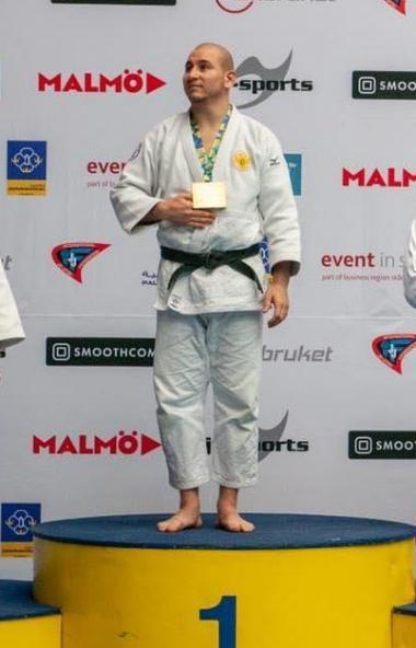 Южноуралец Михаил Костюк стал чемпионом мира по джиу-джитсу в шведском городе Мальме, в котором з