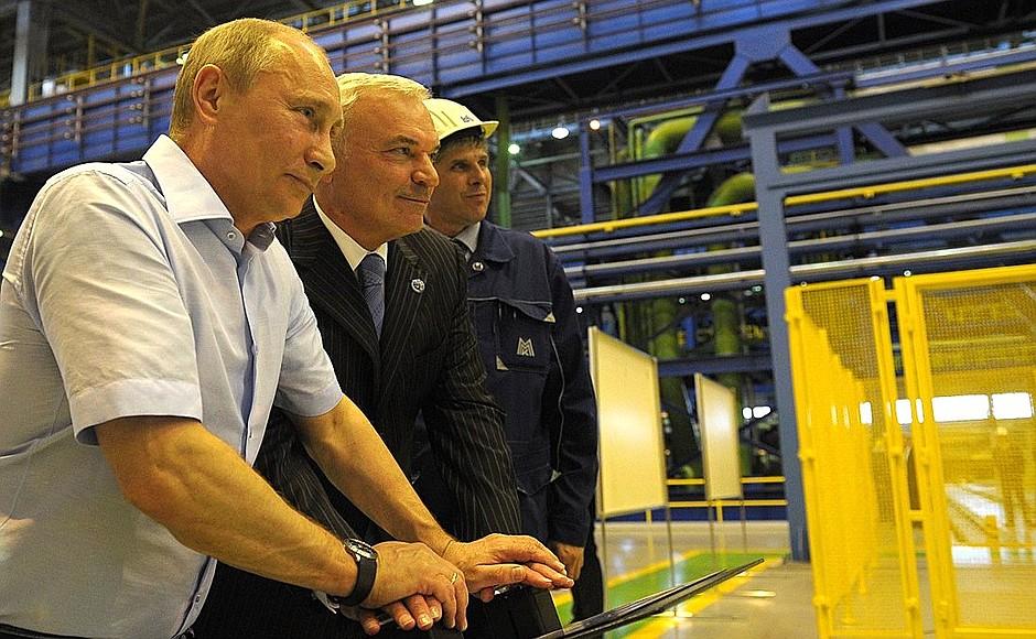Президент России Владимир Путин отметил природоохранные усилия Магнитогорского металлургического
