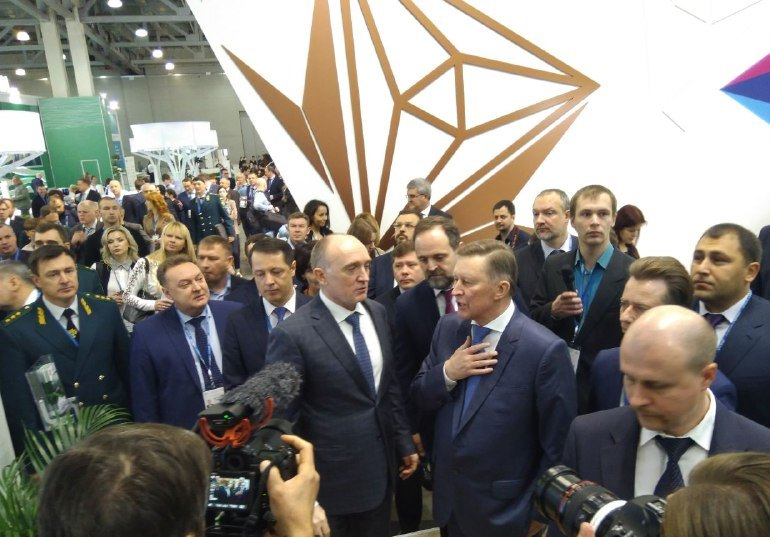 Спецпредставитель посетил стенд региона на II Международной выставке-форуме «ЭКОТЕХ». Мероприятие