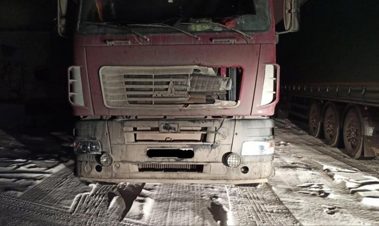 В Сосновском районе (Челябинская область) грузовой МАЗ насмерть сбил мужчину, который находился н