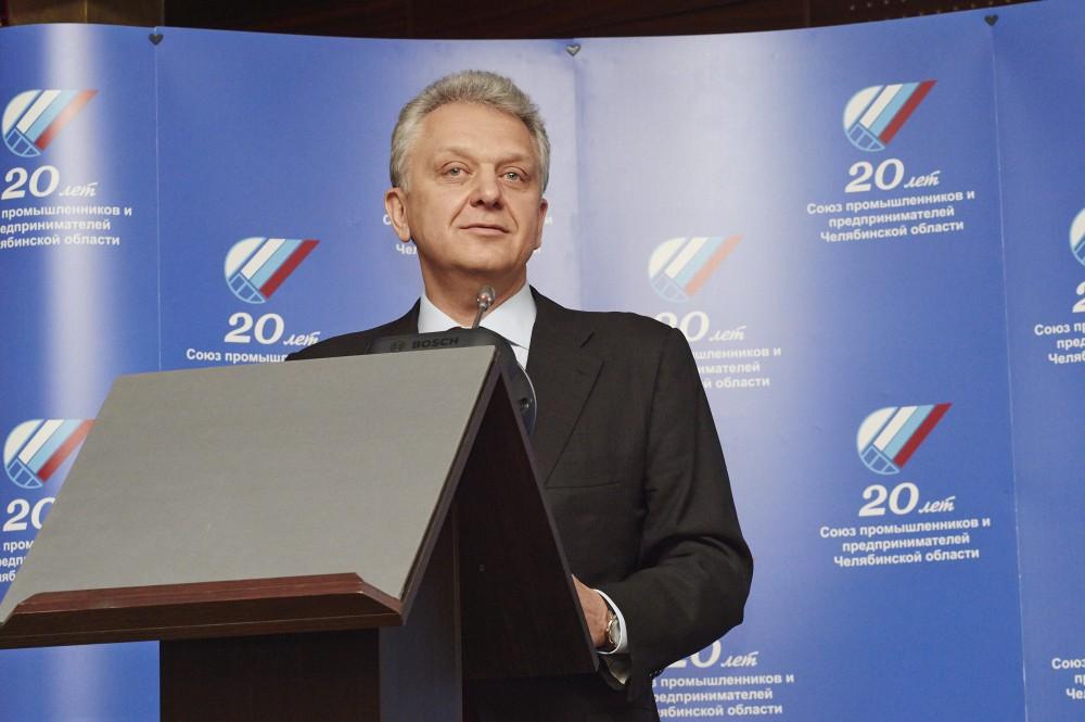 Как сообщил на отчетно-выборной конференции СПП специально прибывший в Челябинск председатель Евр