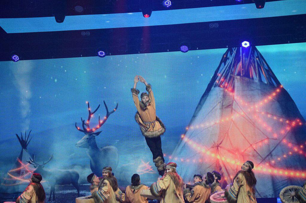 Юные танцоры приняли участие в ежегодном фестивале детского танца «Светлана», основателем и худож