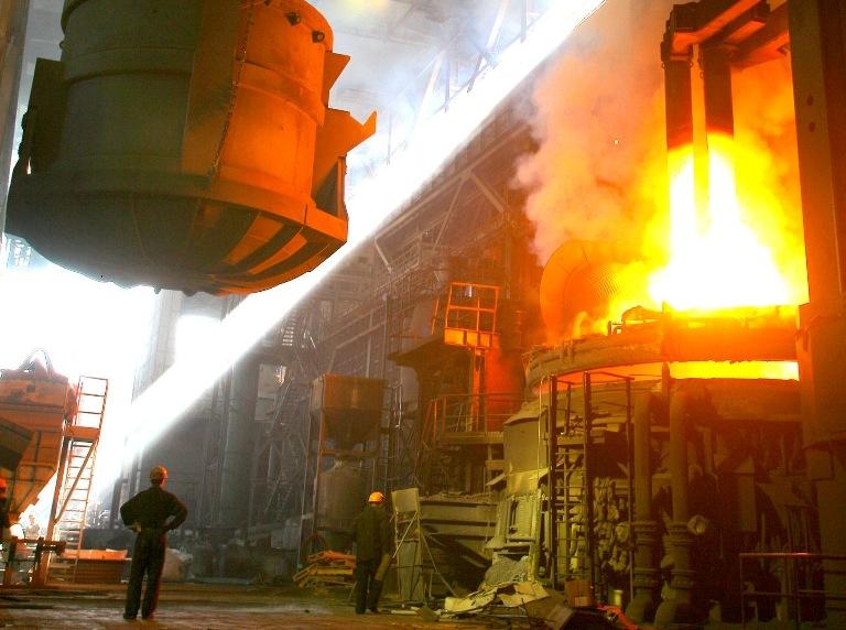 В электросталеплавильном цехе Магнитогорского металлургического комбината достигнут рекордный пок
