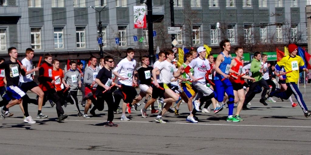 Включая лыжероллеров и велосипедистов, стартовало около 10 тысяч спортсменов и физкультурников