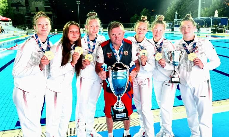 Безоговорочной победой сборной России завершилось первенство Европы по водному поло среди девушек