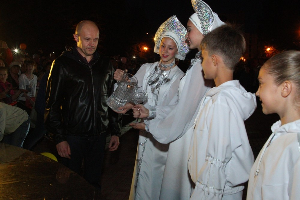 В торжественном мероприятии принял участие Глава администрации Челябинска Сергей Давыдов, который