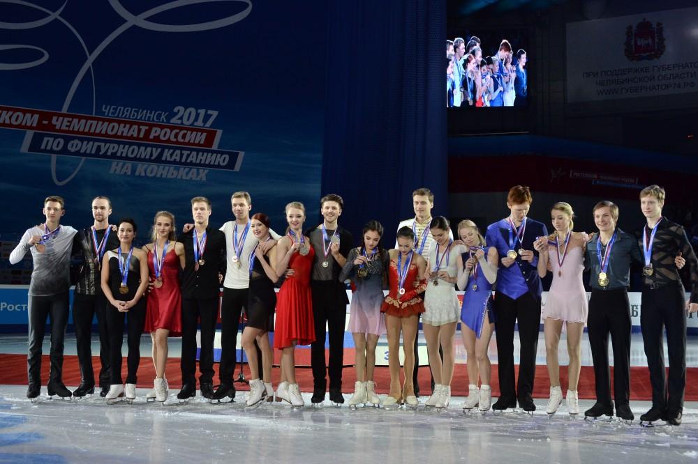 Напомним, чемпионом России по фигурному катанию на коньках среди мужчин стал Михаил Коляда. На пр
