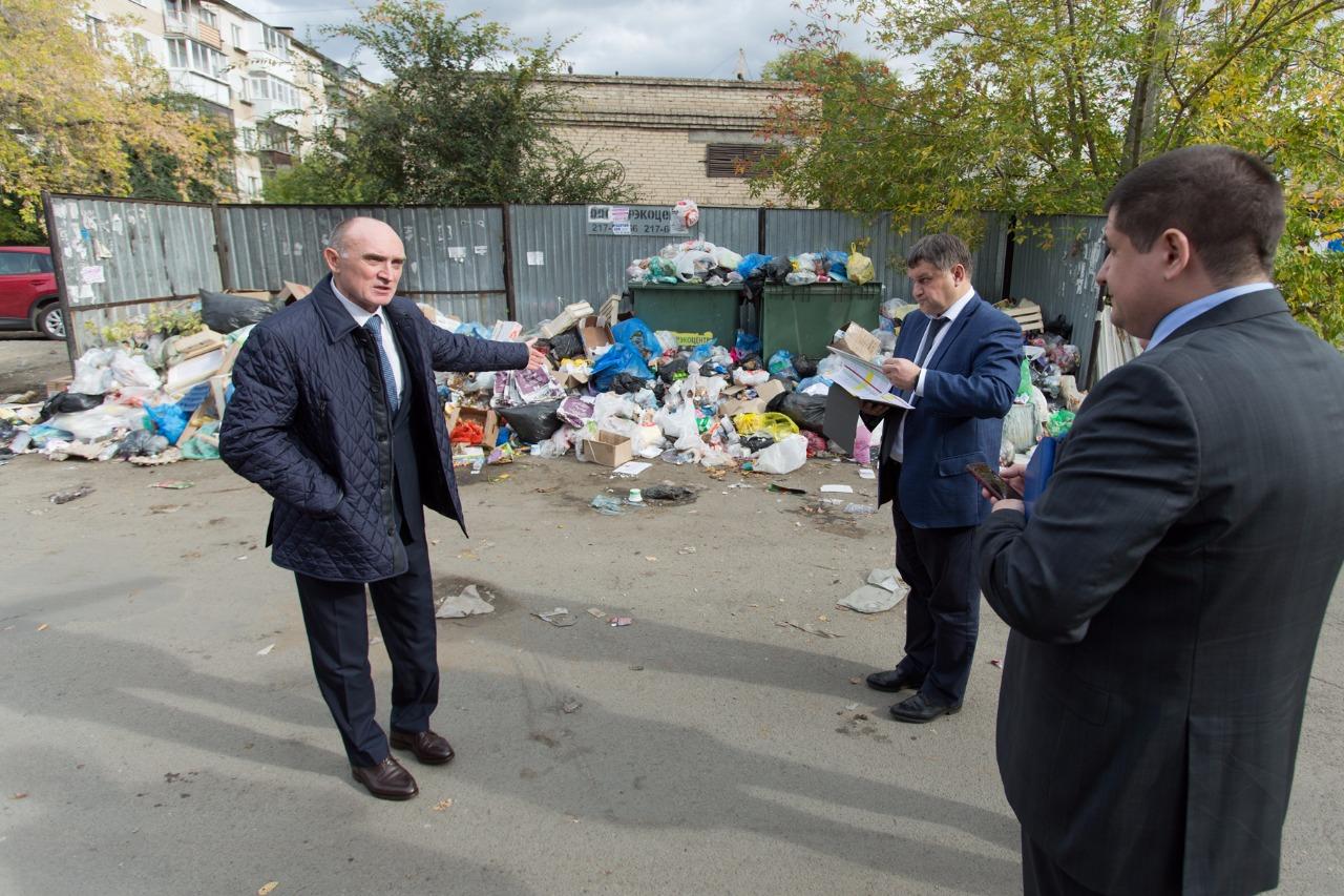 В Челябинске для борьбы с мусорными завалами выделят дополнительные средства и технику. Об этом р