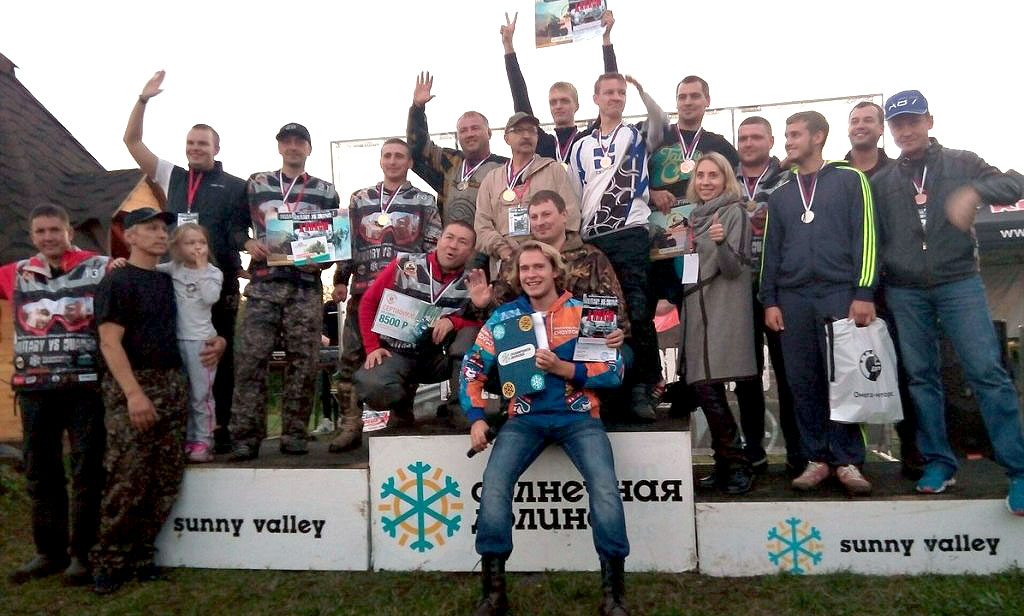 В соревнованиях приняли участие 33 любителя экстремальной езды из Екатеринбурга, Челябинска, Злат