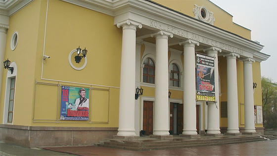 Александр Васильев родом из Екатеринбурга. С прошлого года он - студент Санкт-Петербургской консе