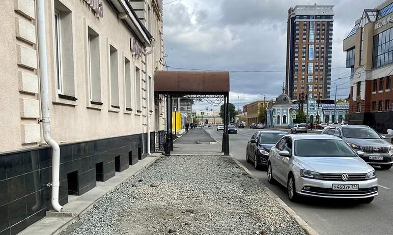 Заместитель главы Челябинска по вопросам строительства объяснил причины непорядка на тротуарах ул
