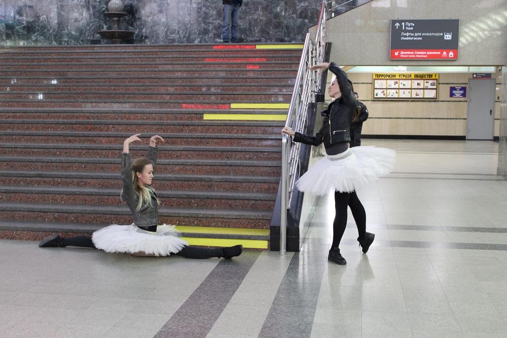 В честь 53-летия железнодорожного вокзала Челябинска артисты Государственного театра оперы и бале