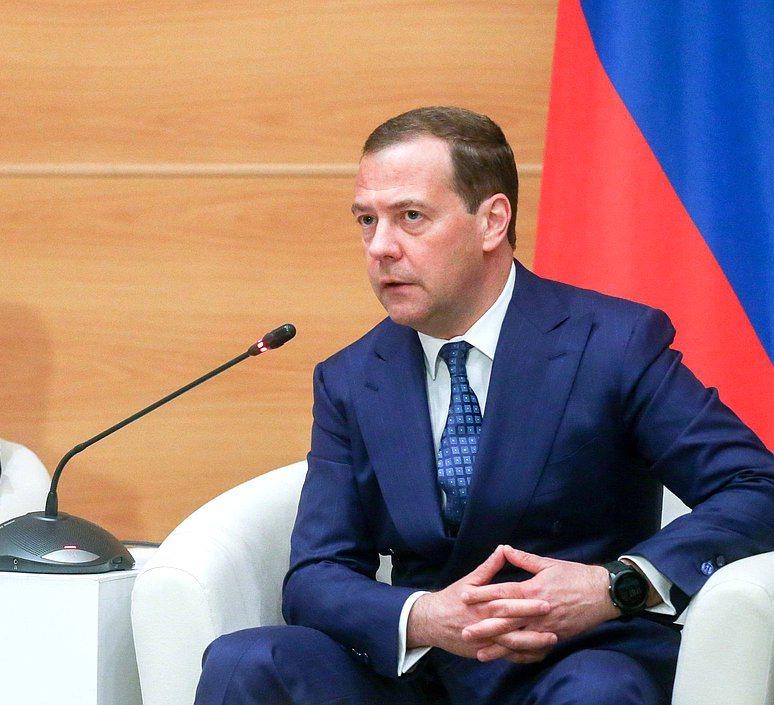 Дмитрий Медведев озвучил на встрече с депутатами Госдумы от «Единой России» свои предложения по р
