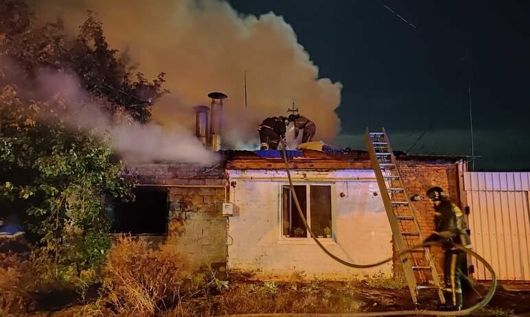Сегодня, 23 сентября, ночью сотрудники Челябинского пожарно-спасательного гарнизона ликвидировали