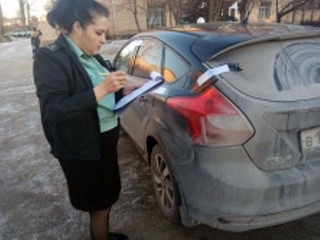 Челябинские приставы арестовали автомобиль должника, которая не фигурировала в исполнительном про