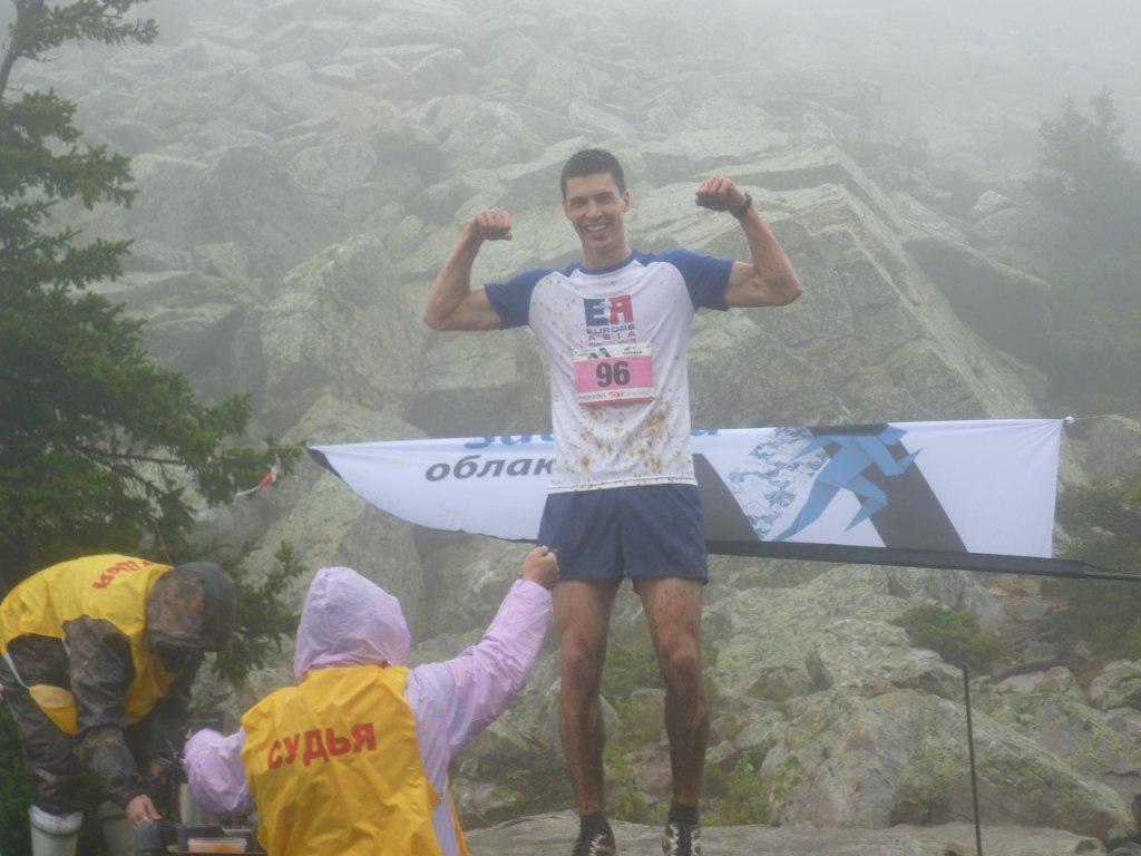 «Забег за облака» - один самых старых горных марафонов на Урале и России. Старт и финиш нынешнего