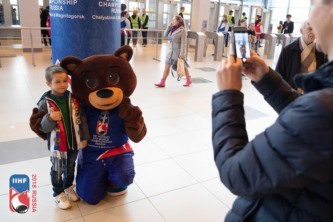 В Челябинске и Магнитогорске завершились матчи группового этапа юниорского чемпионата мира по хок