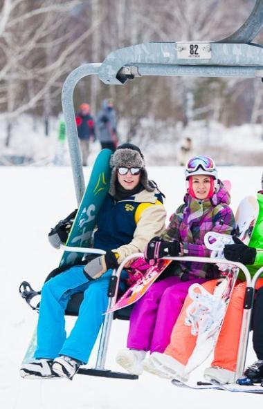 Горнолыжный курорт «Солнечная долина» успешно начал сезон одним из первых курортов в Челябинской