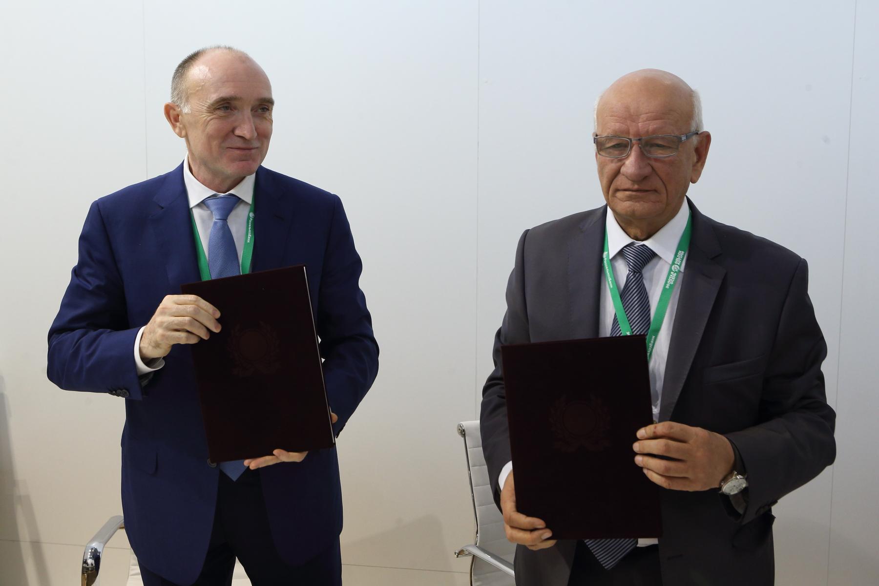 Челябинская и Оренбургская области закрепили официальным документом границы между двумя субъектам