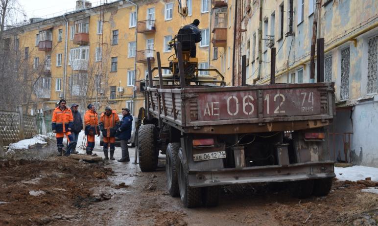 В Златоусте (Челябинская область) сегодня ночью, седьмого апреля, произошла авария на сетях, нахо