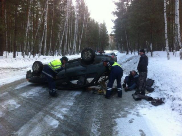 ДТП произошло в понедельник, 14 марта. «Пьяный мужчина взял автомобиль своей жены и посадил за р