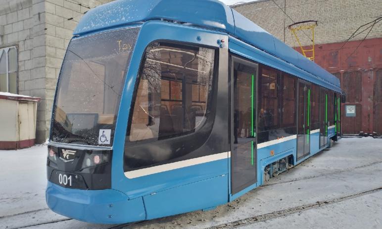 В Челябинске в этом году на линию пустят новую модель трамвая Усть-Катавского вагоностроительного