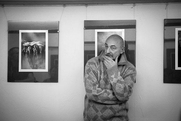 Открылась галерея с уникальной выставки работ известного белорусского фотохудожника Валерия Ведр