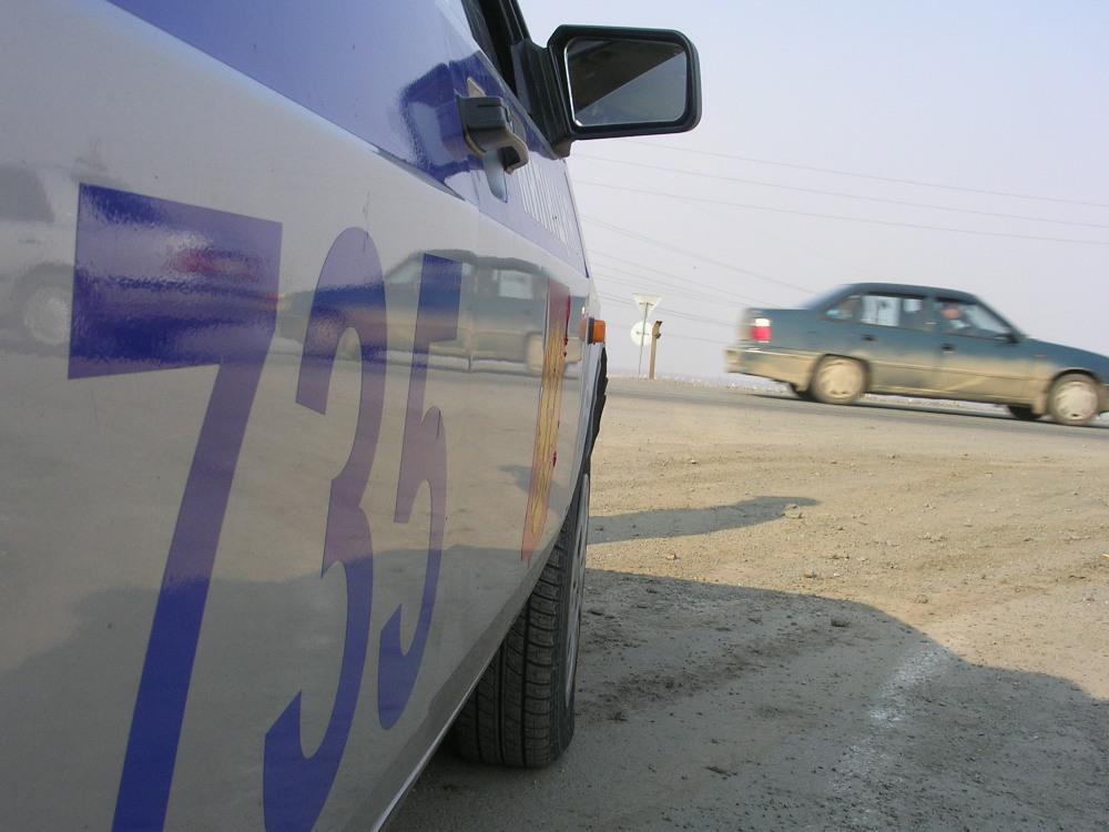 Авария произошла сегодня в 11.49 на трассе Челябинск – Курган – Омск. Столкнулись грузовой Volvo
