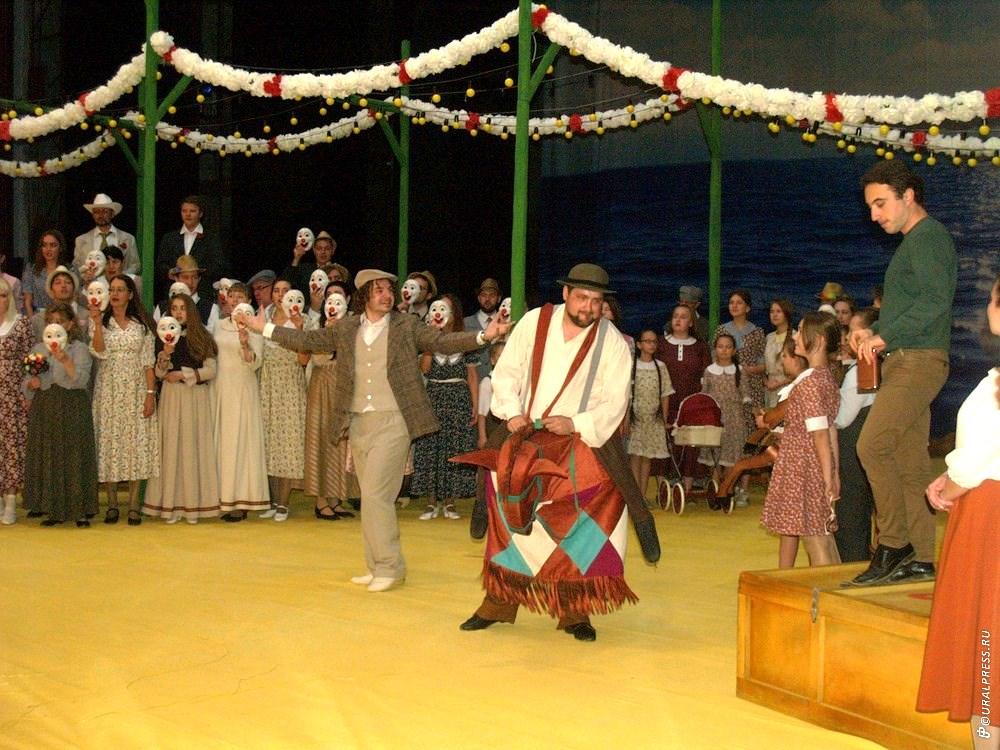 В среду, 10 октября, в Челябинском театре оперы и балетаимени Глинки состоялась генеральная репе