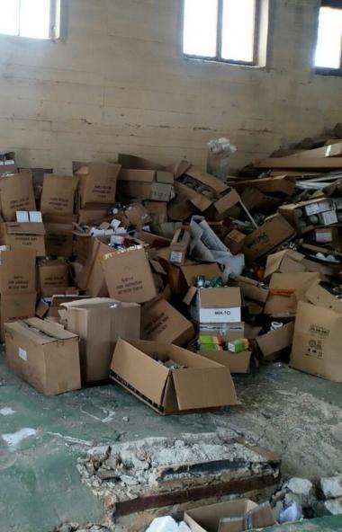 В Миассе (Челябинская область) установлен собственник склада разбитых ртутных ламп, являющихся оп