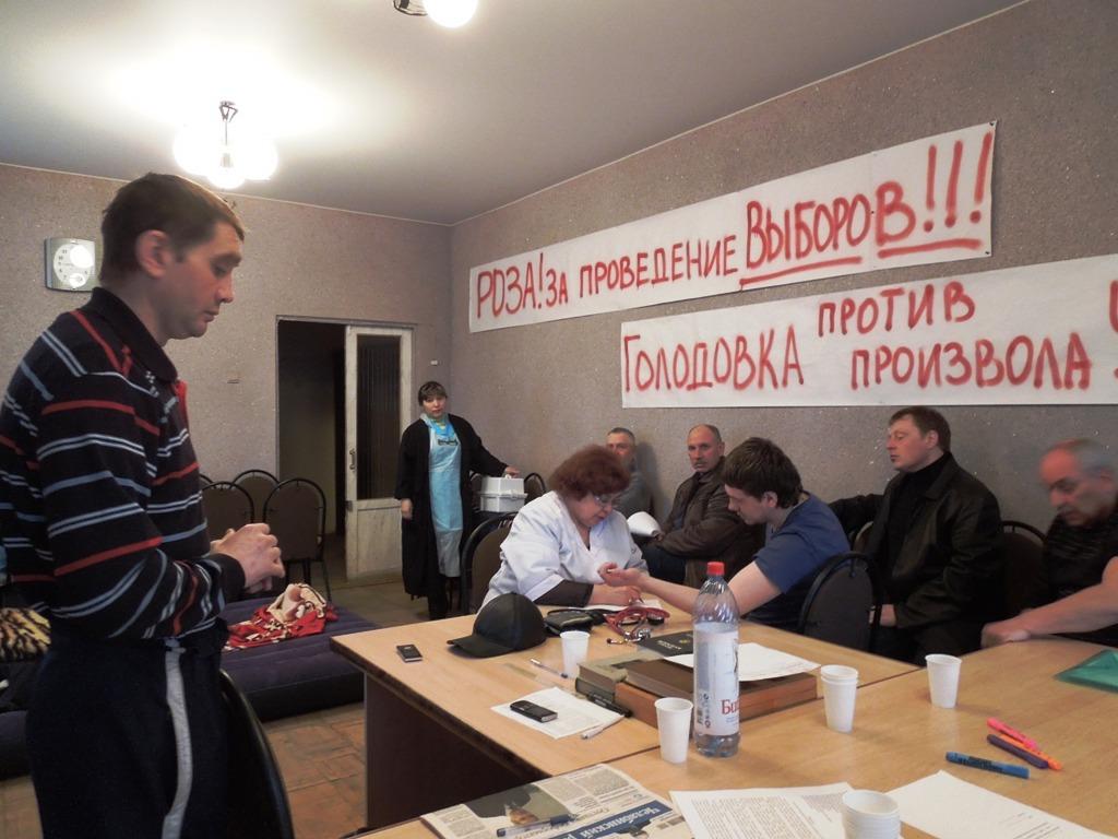 Сегодня в Розу приехали два высококвалифицированных специалиста из Челябинска и после обследовани