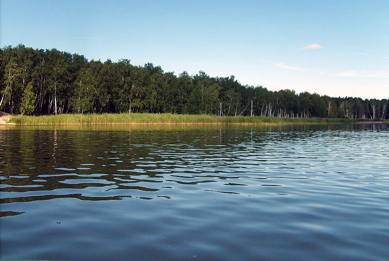 Жители Увельского района Челябинской области встали на защиту водоема, являющегося памятником при