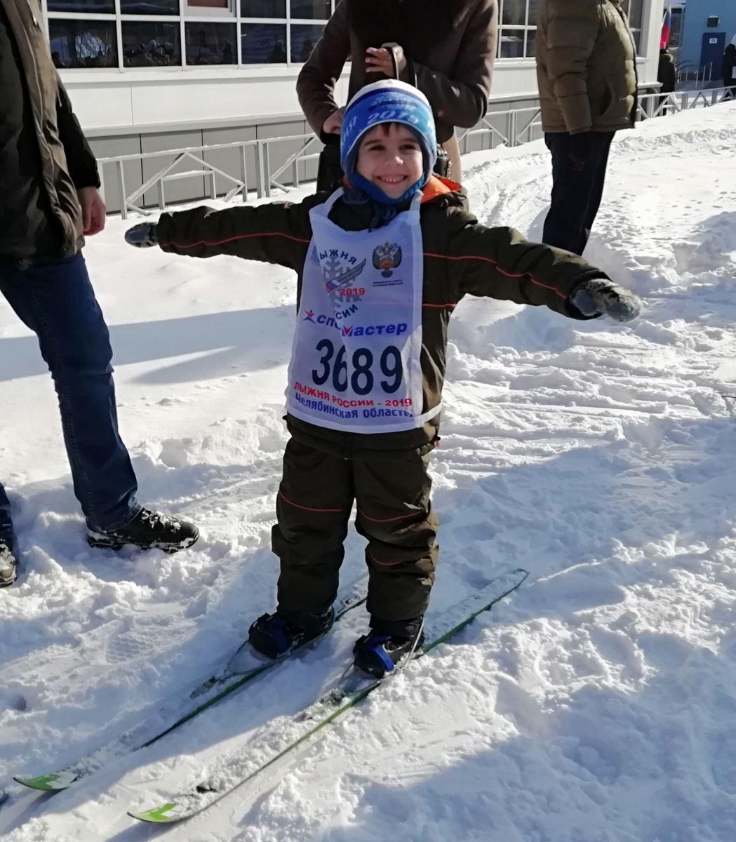 Давид Гачечиладзе стал самым юным в Челябинской области участником комплекса «Готов к труду и обо
