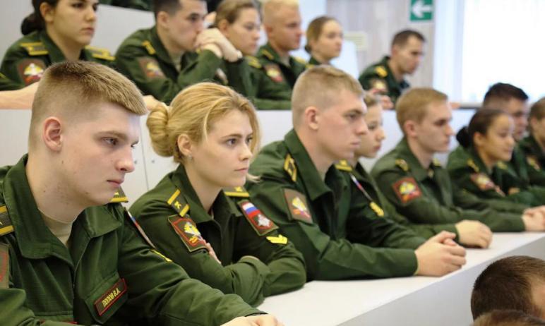 Военный комиссариат Челябинской области проводит набор кандидатов в вузы министерства обороны Рос