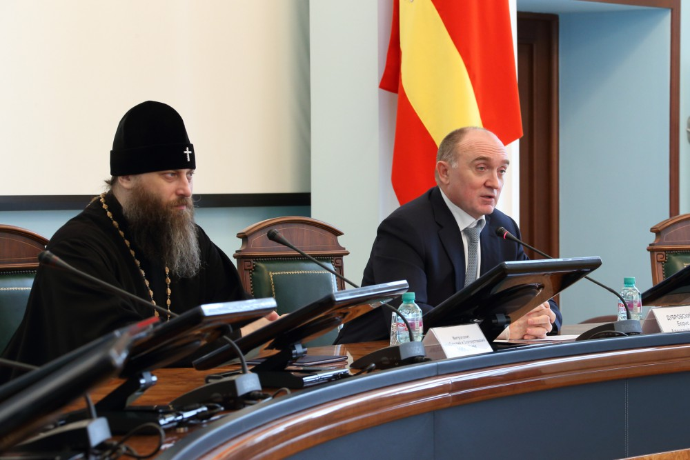 Об этом заявил губернатор Борис Дубровский губернатор Борис Дубровский на заседании попечительско