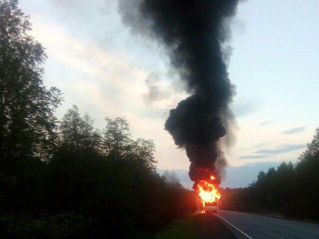 Как сообщили агентству «Урал-пресс-информ» в противопожарной службе Челябинской области, сигнал о