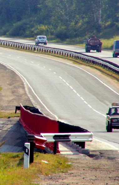 В Челябинской области реконструируют участок автомобильной дороги федерального значения М-5