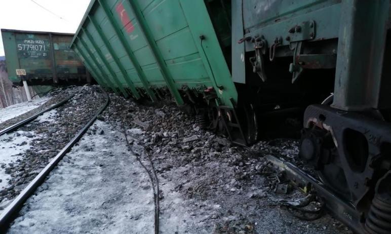 На перегоне Сыростан – Хребет Южно-Уральской железной дороги утром 16 марта произошел сход 19 ваг