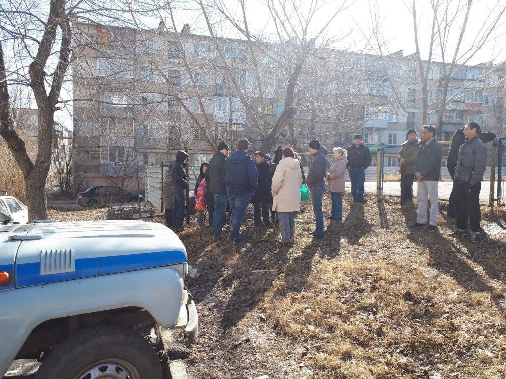 В Челябинске снова началось противостояние жителей и СК «Высотник». Горожане против строительства